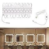 Winbang Make Up Light, luci a specchio a LED USB Luci di controllo touch dimmerabili...