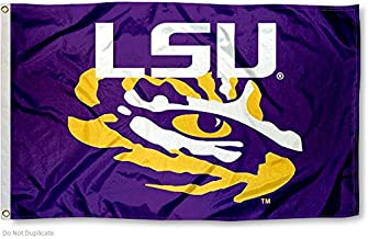 College Flags and Banners Co. Louisiana State LSU Tigers Eye of The Tiger Flag