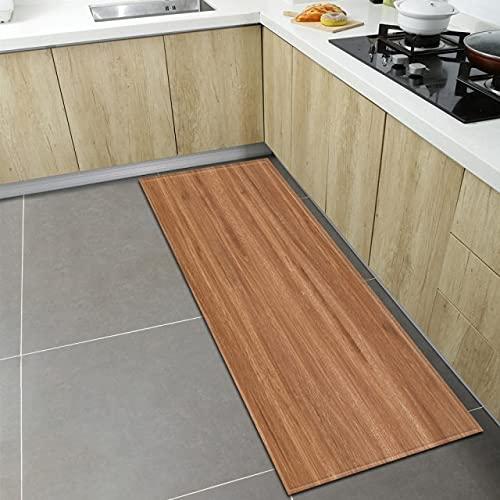 xuyuandass Nordic Kitchen Carpet Home Entrance Door Mat Living Room Bedroom Bedside Decoration Long Strip Carpet Corridor Bathroom Non-Slip Floor Mat 50X80Cm D798
