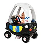 little tikes- Tikes Patrol Police Car Refresh Andadores, Negro, Color Blanco...