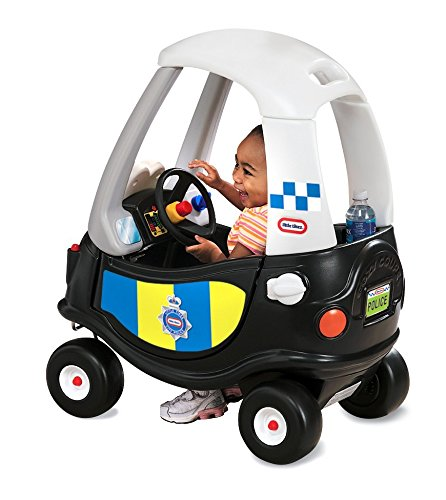 little tikes- Tikes Patrol Police Car Refresh Andadores, Neg