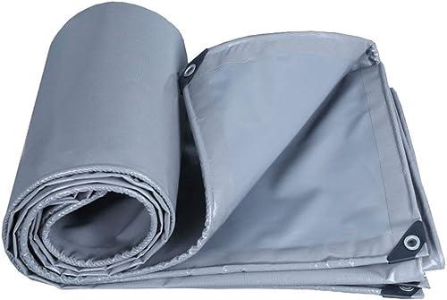 Baches 100% imperméable et UV prougeégé bache multifonctionnelle de bache de toit de bateau de bache de prougeection de bateau de camping tente de remorque de camping, épaisseur 0.45mm ( Taille   3x6m )