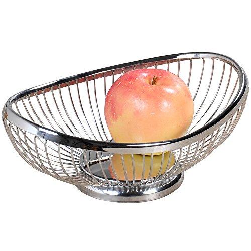 KESPER Corbeille à Fruits et à Pain 25,5 x 17,5 x 9,5 cm
