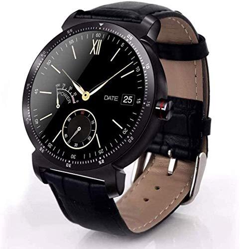 Ruisan Smart Uhr HD-Anzeige Herzfrequenz-Monitor-Schrittzähler Fitness-Tracker Smartwatch Verbindung für Android iPhone Noble-D-B.
