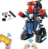 Robot Building Kits for Kids, STEM Remote Controlled Building Toys Kits Educational Engineering STEM...