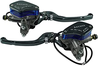 Sistema de frenos Un par de motocicletas Palanca universal Manija ajustable Bomba de freno de embrague
