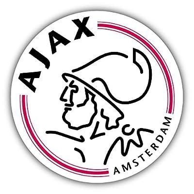 qualityprint Ajax Amsterdam Soccer Sport Football Decor Vinyl Sticker 12'' X 12''