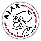 qualityprint Ajax Amsterdam Fußball-Aufkleber, Vinyl, 30,5