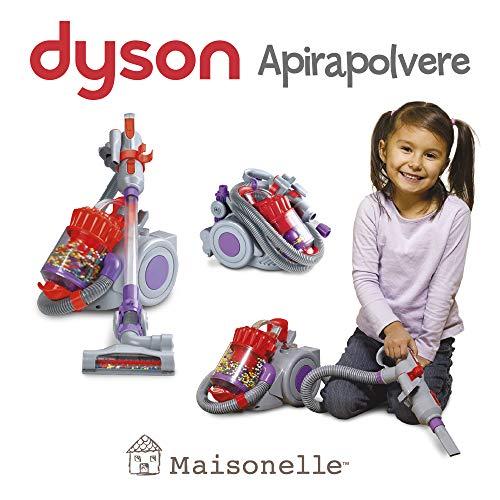 ODS-Maisonelle stofzuiger Dyson, kleur grijs, violet en rood, 20802