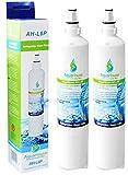 2x AquaHouse AH-L6P compatible pour filtre à eau LG LT600P, 5231JA2006A, 5231JA2006B, 5231JA2006F filtre à eau de réfrigérateur