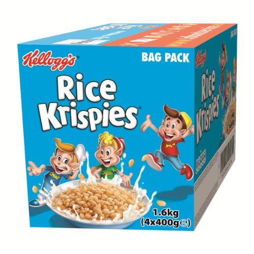 Kellogg's Rice Krispies Classic, 4er pack (4 x 400 g Karton)