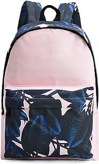 MYXMY Student Bag Shoulder Bag Female Simple Large Capacity Student Bag Canvas Backpack Printing Casual Back Men Bag Personality Versatile Shoulder Bag