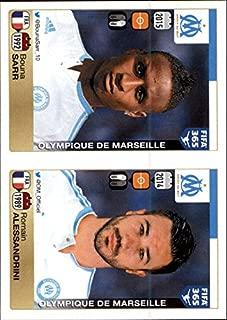 2015-16 Panini FIFA 365 Stickers #410 Bouna Sarr 411. Romain Alessandrini