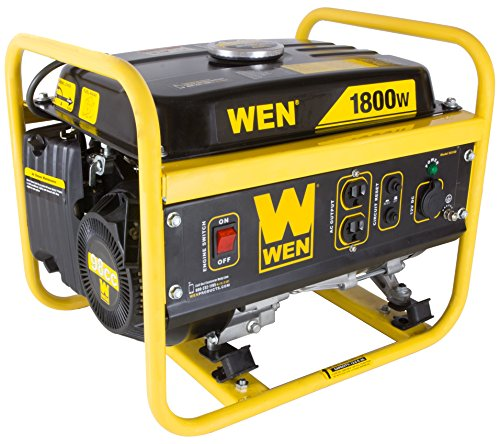 WEN 56180 1800-Watt Portable Generator, CARB Compliant