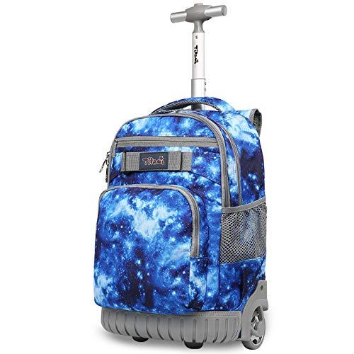 TABITORA(タビトラ) スーツケース リュックキャリー ビジネスバッグ 旅行バッグ リュックサック 機内持込 ビジネス 静音 大容量 通勤 通学 出張 男女兼用 ブルー