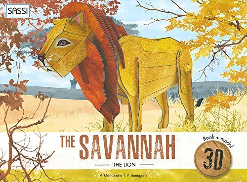 Savannah Lion 3d Model