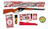 Red Ryder Bundle - 5 Items - Daisy Carbine BB Gun, Starter Kit, Christmas Story Decoder Pin, Daisy 25ct Pack of Targets, Daisy 350 ct BB Tube