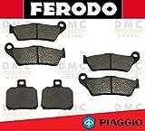 KIT PASTIGLIE PASTICCHE FRENO FERODO PIAGGIO X9 500 DAL 2003 IN POI - X9 500 ie FDB2018 - FDB2074