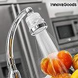 InnovaGoods| Ecogrifo con filtro purificador de agua | 6 x 6 x 8 cm | Transparente
