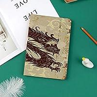 新しい ipad pro 11 2018 ケース スリムフィット シンプル 高級品質 手帳型 柔らかな内側 スタンド機能 保護ケース オートスリープ 傷つけ装飾的な古いアジアの魔法の図とアンティークの紙スタイルグランジ背景