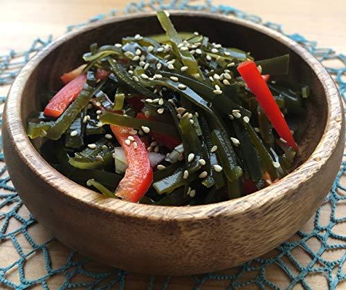 Getrocknete Algen für Algensalat | Kombu Meeresgemüse aus Wildernte im Japanischen Meer 100g