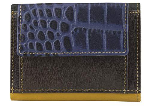 Sunsa Geldbörse für Damen Kleiner Leder Geldbeutel Portemonnaie mit RFID Schutz Brieftasche mit viele Kreditkarten Fächer Geldtasche Wallet Purses for Women das Beste Gift kleine Geschenk