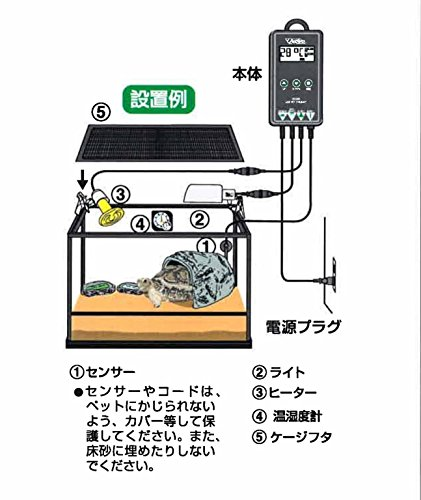 ビバリア『LCDペットサーモ(RT-2000)』