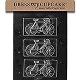 Dress My Cupcake Chocolate Candy Mold, Bicycle