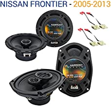 Compatible with Nissan Frontier 2005-2013 OEM Speaker Upgrade Harmony R69 R65 Package New