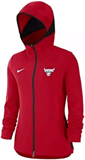 Nike Women's Dri-FIT Chicago Bulls NBA Showtime Full-Zip Hoodie Size Medium