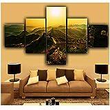 Wandkunst Leinwand Hauptdekoration Wohnzimmer HD Druck 5