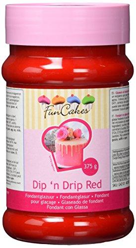 FunCakes Dip'n Drip rot, 375 g