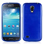 Cadorabo Case works with Samsung Galaxy S4 MINI in BLUE -