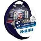 Philips RacingVision +150% Ampoule Phare H7 12972RVS2, set de 2