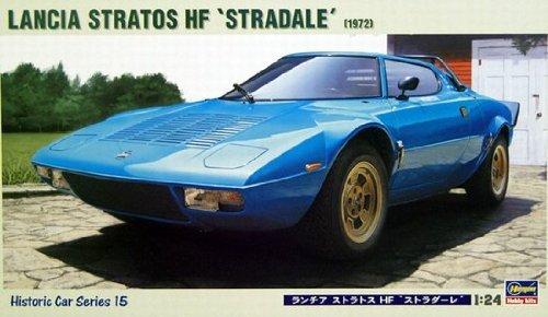 ハセガワ 1/24カーモデル HC15 ヒストリックカーシリーズ ランチア ストラトスHF ストラダーレ 1/24 プラモデル