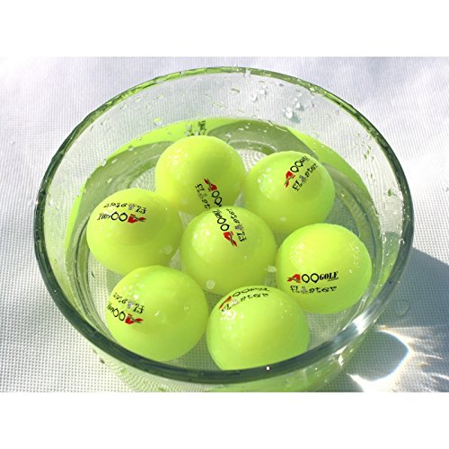 A99 Golf Floating Balls Floater Practice aid Water Golf Range Water Fun with Golf (Neon Green 12pcs)