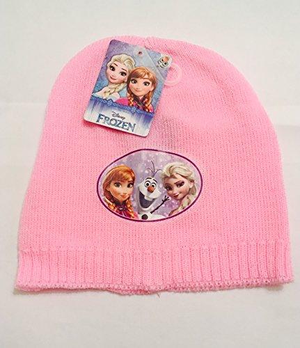 Disney La Reine des neiges Rose clair en tricot Chapeaux