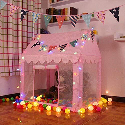 XXSHN Tienda de Juegos para niños Juego para niños Castillo de Juguete Piscina de Bolas para Interiores o Exteriores Tienda de Juegos para niños y niñas Juguetes para niñas/niños Niños