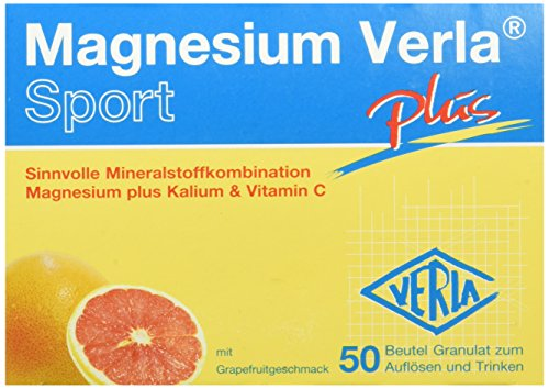 Magnesium Verla plus Granulat grapefruit, 1er Pack (1 x 50 Stück)