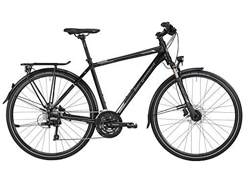 Bergamont Horizon 7.0 Herren Trekking Fahrrad schwarz/grau/silber 2016: Größe: 60cm (186-201cm)