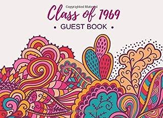 Class of 1969 Guest Book: Reunion Registration Keepsake - Alumni Celebrations & Party Decorations - Signature Memory Registry - College, University, High School