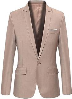 Men's Blazer Business Fit Jackets Classic Slim Modern Solid Comfortable Sizes Color Blazer Long Sleeve Lapel Work Outwear ...