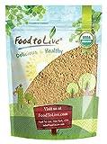 Organic Garlic Powder, 8 Ounces - Non-GMO, Kosher, Raw, Dried, Sirtfood, Bulk