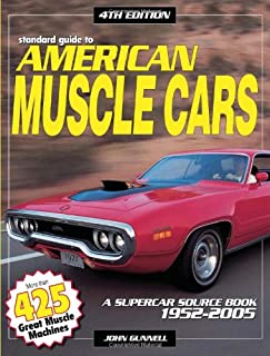 Standard Guide to American Muscle Cars: A Supercar Source Book 1952-2005