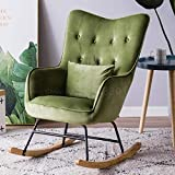LJQLXJ divano Single Sofa Reclining Chair Rocking Chair Carefree Chair Living Room Balcony Leisure Chair Napping Chair,Same as picture5