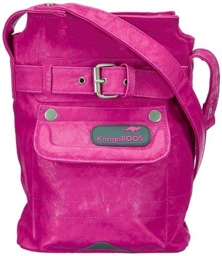 KangaROOS Jean-II biota Bag (Set) B0287, Damen Schultertaschen, Pink (lillipilli), 21x27x6 cm (B x H x T)