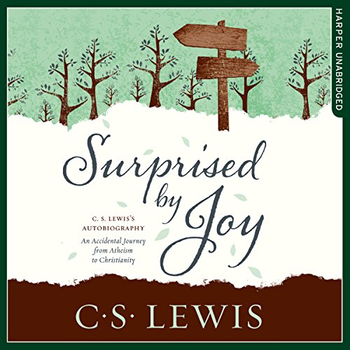 Surprised by Joy audiobook cover art