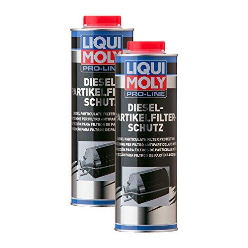 2x LIQUI MOLY 5123 Pro-Line Dieselpartikelfilter-Schutz DPF Additiv 1L