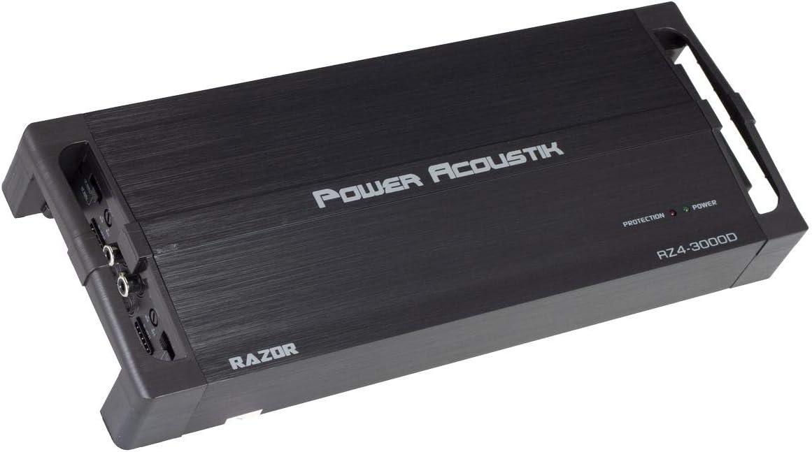 Power Acoustik 4 Channel Monoblock Amp Class D Full-Range