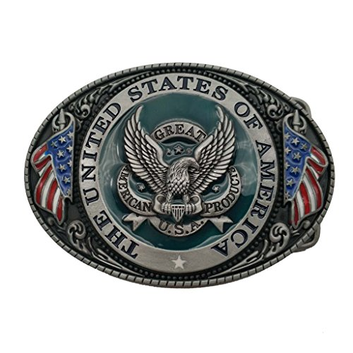 Hebilla de cinturón Great America Product Eagle USA Belt Buckle
